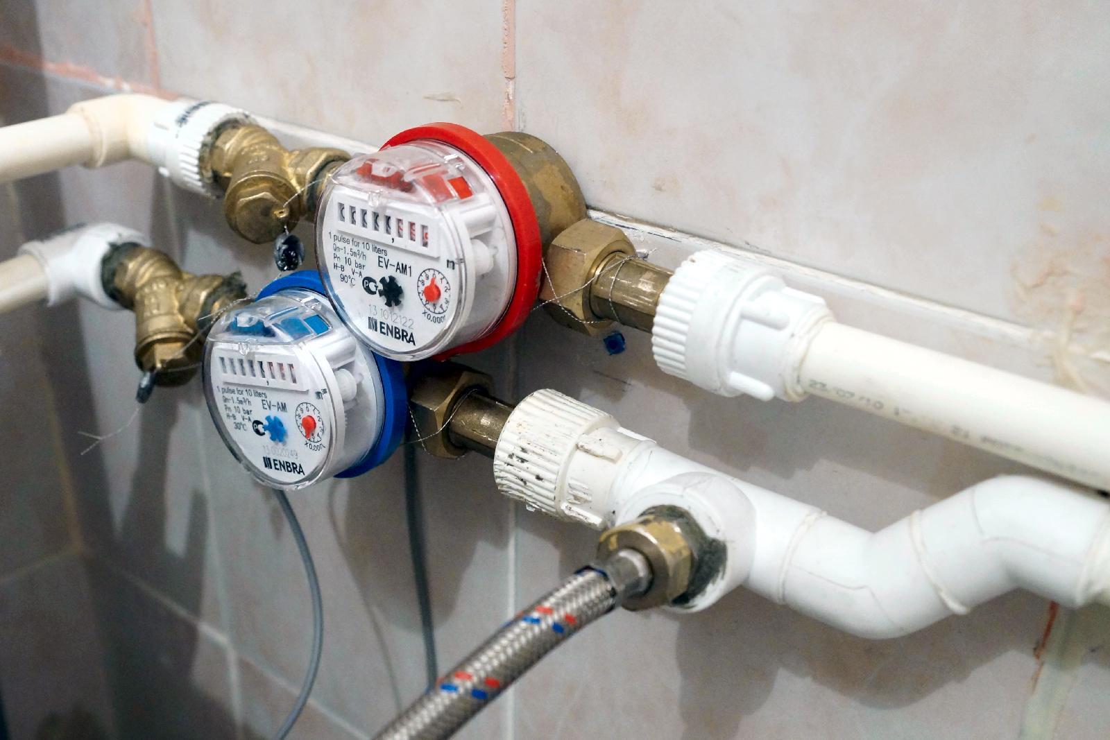 Схема пломбировки счетчика воды в квартире