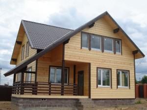 Каркасный дома в Самаре