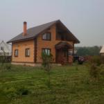Дом из бруса с мансардой 145 м²