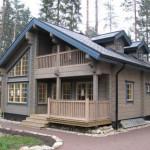 Дом из бруса с мансардой 156 м²