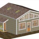 Площадь 91 м², с крыльцом, двухэтажный