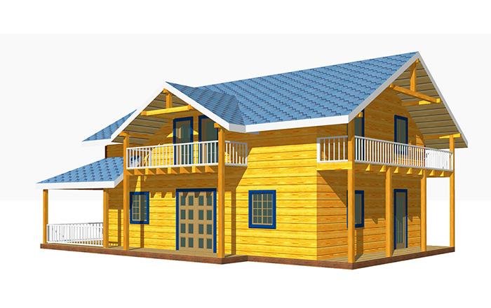 Архивы с балконом - строительство домов в самаре.