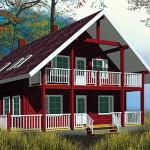 Площадь 256 м², двухэтажный, балкон на 3 спальни