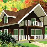 Площадь 226 м², крытая терраса, балкон