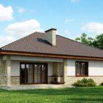 Одноэтажный дом 140,1 м²